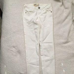Jolt White Skinny Jeans